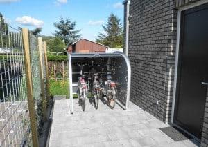 HOME 3.0 met 3 fietsen